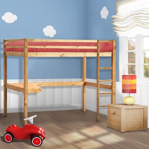 Lit mezzanine infantastic notre avis sur ce lit premier prix for Petit lit mezzanine