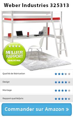 test et avis pour trouver et acheter le meilleur lit mezzanine lit. Black Bedroom Furniture Sets. Home Design Ideas