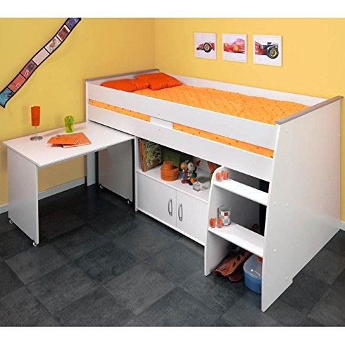 avis sur le lit lhasa un lit sur lev tr s complet petit prix. Black Bedroom Furniture Sets. Home Design Ideas