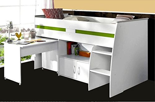 top lit mezzanine enfant notre avis sur le lit surlev lhasa paris prix with lit mezzanine enfant. Black Bedroom Furniture Sets. Home Design Ideas