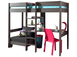 comparatif et guide d 39 achat 2018 du lit mezzanine. Black Bedroom Furniture Sets. Home Design Ideas