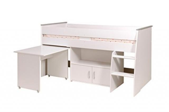 Parisot Reverse 2270 : le meilleur lit mezzanine combiné pour enfant ? Avis et Test